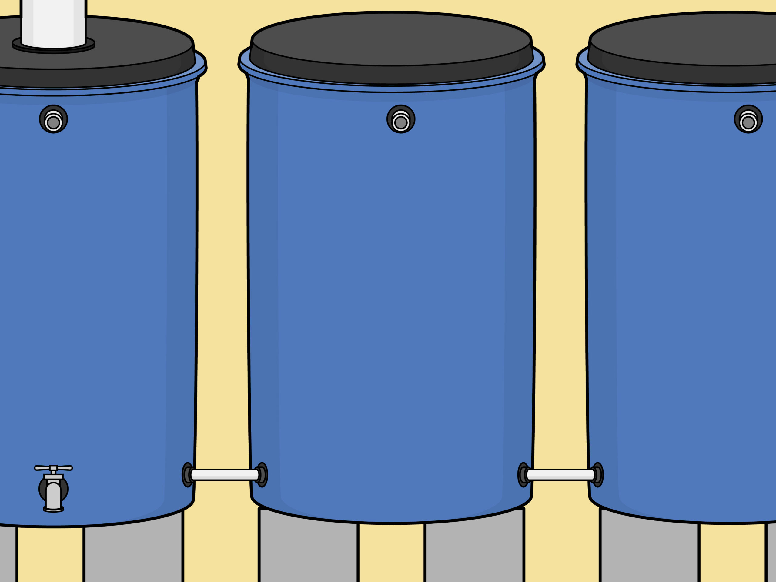 Full Size of Wassertank Garten Flach Unterirdisch Flacher Sitzgruppe Gerätehaus Feuerstellen Im Kugelleuchten Spielhaus Sauna Lärmschutz Lounge Sessel Schwimmingpool Für Wohnzimmer Wassertank Garten Flach