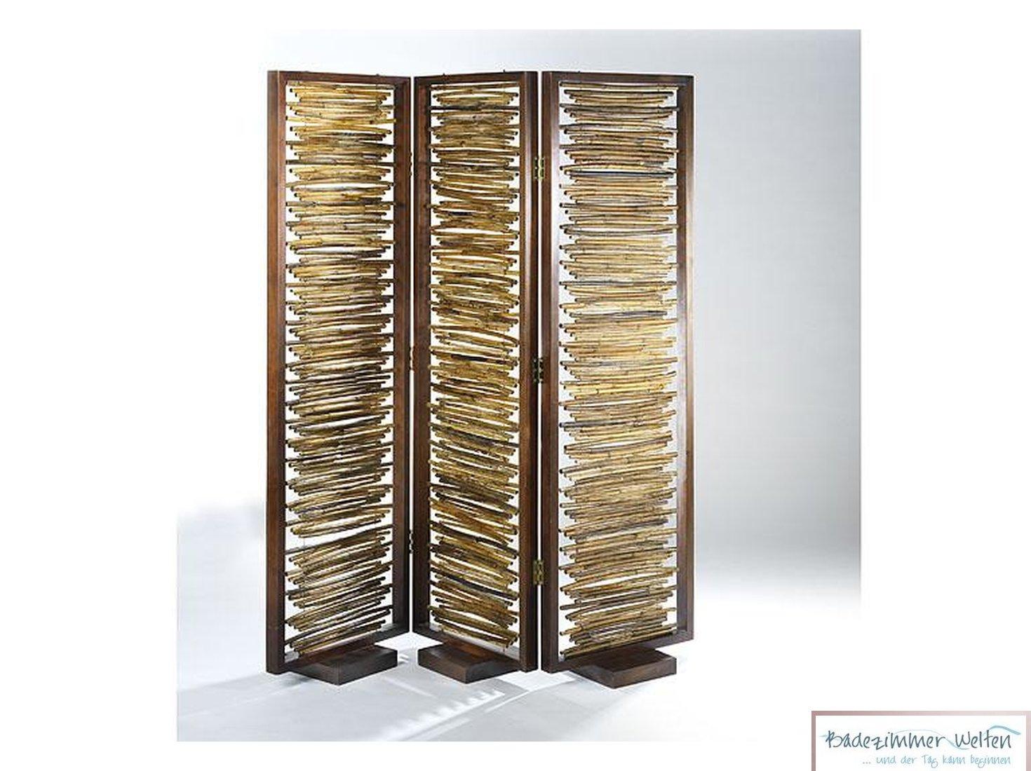 Full Size of Paravent Bambus Raumteiler Sichtschutz 3 Teilig Aus Garten Bett Wohnzimmer Paravent Bambus