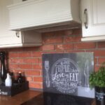 Kchenrckwand Steinoptik Aus Steinverblendern Riemchenwerk Küchen Regal Küche Fliesenspiegel Selber Machen Glas Wohnzimmer Küchen Fliesenspiegel