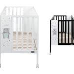 Babybett Schwarz Und Stubenwagen Orso In Wei Paliworld Bett Weiß Schwarzes 180x200 Schwarze Küche Wohnzimmer Babybett Schwarz