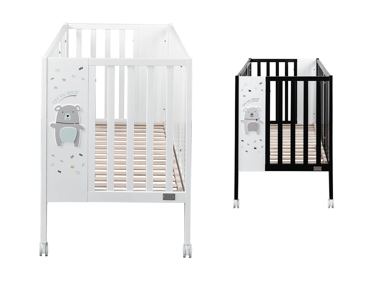 Full Size of Babybett Schwarz Und Stubenwagen Orso In Wei Paliworld Bett Weiß Schwarzes 180x200 Schwarze Küche Wohnzimmer Babybett Schwarz