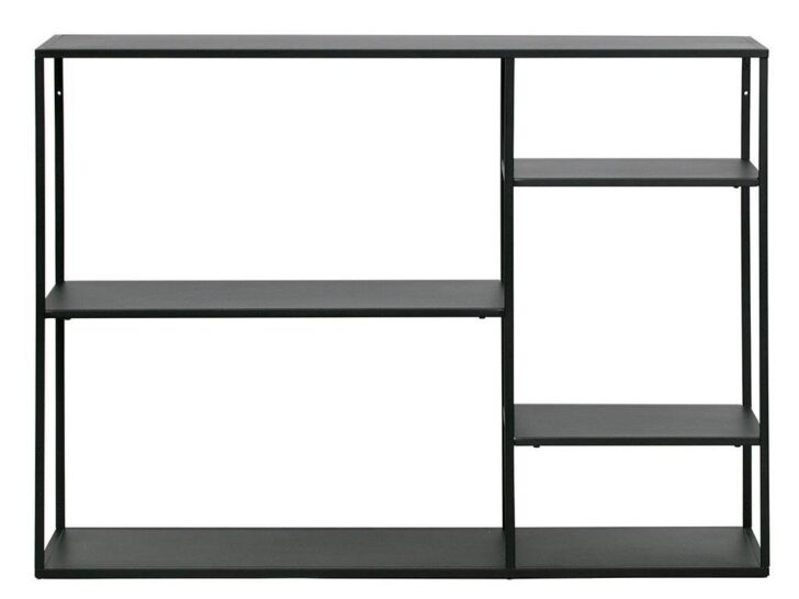 Medium Size of Regalwürfel Metall Regal Schwarz Mit 4 Bden 120x87 Bett Weiß Regale Wohnzimmer Regalwürfel Metall