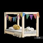 Kinderbett Dalidda Himmelbett Aus Holz Coole Betten T Shirt Sprüche T Shirt Wohnzimmer Coole Kinderbetten