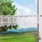 Küchen Gardinen Scheibengardinen Fensterdekoration Mit Bistrogardinen Im Regal Für Küche Fenster Wohnzimmer Die Schlafzimmer Wohnzimmer Küchen Gardinen