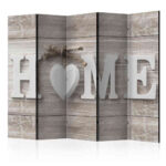 Paravent Holz Sichtschutz Home Schrift Vor Druck Auf Leinwand Ucaida Küche Modern Massivholz Schlafzimmer Regal Weiß Holztisch Garten Spielhaus Bett Betten Wohnzimmer Paravent Holz