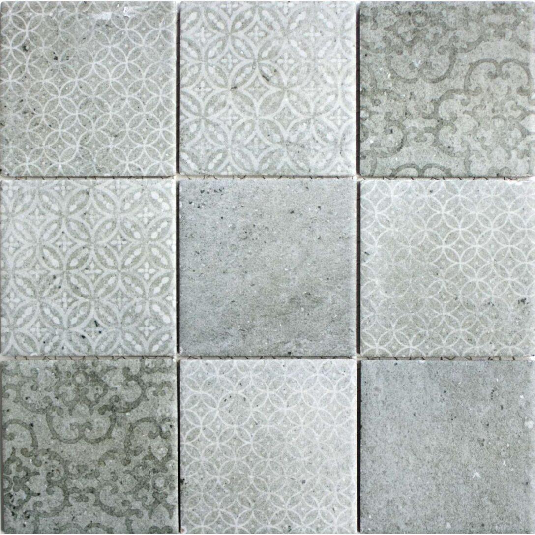 Large Size of Keramikmosaik Mosaik Classique Grau 30x30cm In 2020 Bodenfliesen Küche Bad Bauhaus Fenster Wohnzimmer Bodenfliesen Bauhaus