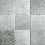 Keramikmosaik Mosaik Classique Grau 30x30cm In 2020 Bodenfliesen Küche Bad Bauhaus Fenster Wohnzimmer Bodenfliesen Bauhaus