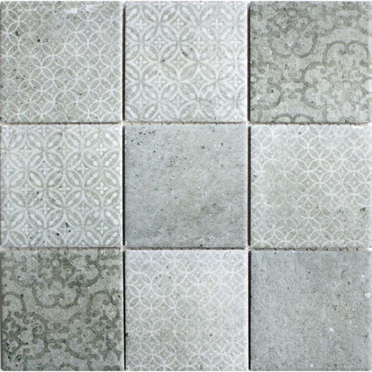 Medium Size of Keramikmosaik Mosaik Classique Grau 30x30cm In 2020 Bodenfliesen Küche Bad Bauhaus Fenster Wohnzimmer Bodenfliesen Bauhaus