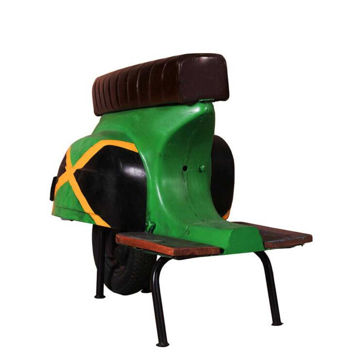 Medium Size of Retro Roller Barhocker Jamaika Style Aus Metall Und Kunstleder Stengel Miniküche Mit Kühlschrank Regale Ikea Wohnzimmer Miniküche Roller