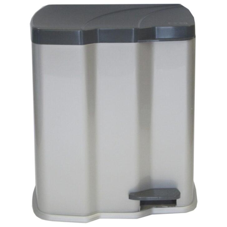 Medium Size of Doppel Mülleimer Abfalleimer Kche Einbau Hailo Unterbau Plastik Mit Küche Doppelblock Wohnzimmer Doppel Mülleimer