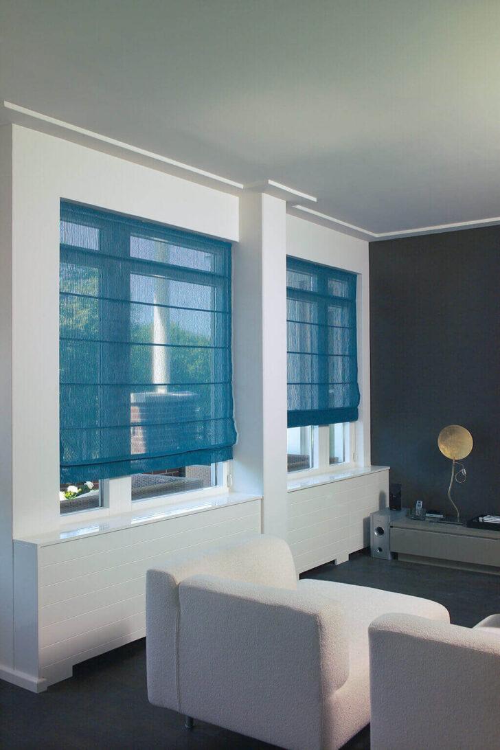 Medium Size of Sichtschutz Im Wohnzimmer Moderne Plissees Raffrollo Küche Wohnzimmer Raffrollo Küchenfenster