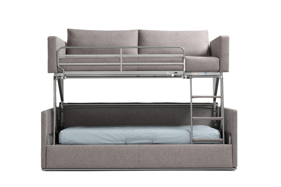 Large Size of Couch Ausklappbar Hochbett Etagenbett Mit Gnstig Versandkostenfrei Pemora Ausklappbares Bett Wohnzimmer Couch Ausklappbar