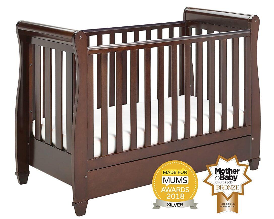 Large Size of Babymore Eva Schlitten Kinderbett Bett Pritschenwagen Mit Schwarzes 180x200 Schwarz Weiß Schwarze Küche Wohnzimmer Babybett Schwarz