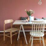Wandfarbe Rosa Altrosa Schnsten Ideen Küche Wohnzimmer Wandfarbe Rosa