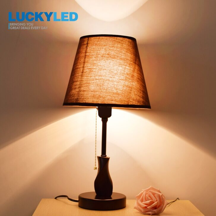 Medium Size of Luckyled Schreibtisch Lampe Holz Tisch Licht E27 E26 Esstisch Rustikal Wohnzimmer Wandtattoos Massivholz Bett Holzbrett Küche Stehlampe Lampen Regal Wohnzimmer Wohnzimmer Lampe Holz