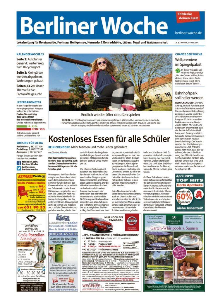 Medium Size of L29 Reinickendorf Nordwest By Berliner Woche Wellmann Küche Velux Fenster Ersatzteile Küchen Regal Wohnzimmer Wellmann Küchen Ersatzteile