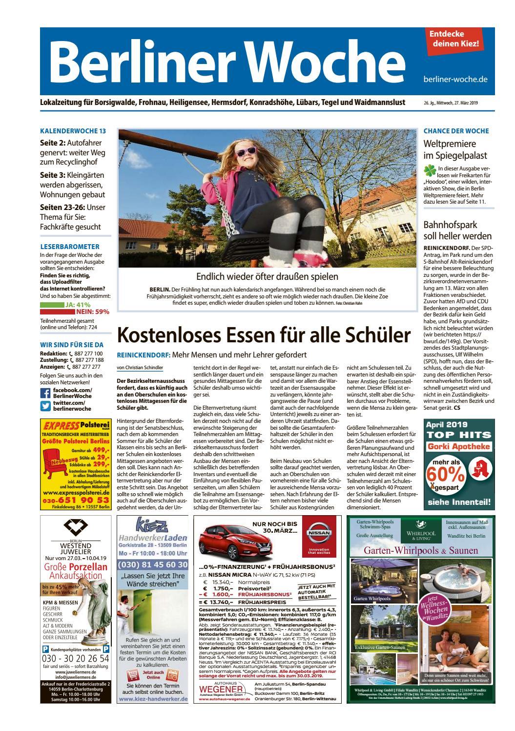 Full Size of L29 Reinickendorf Nordwest By Berliner Woche Wellmann Küche Velux Fenster Ersatzteile Küchen Regal Wohnzimmer Wellmann Küchen Ersatzteile