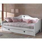 Mädchenbetten Mdchenbett Grandory In Wei Wohnende Wohnzimmer Mädchenbetten