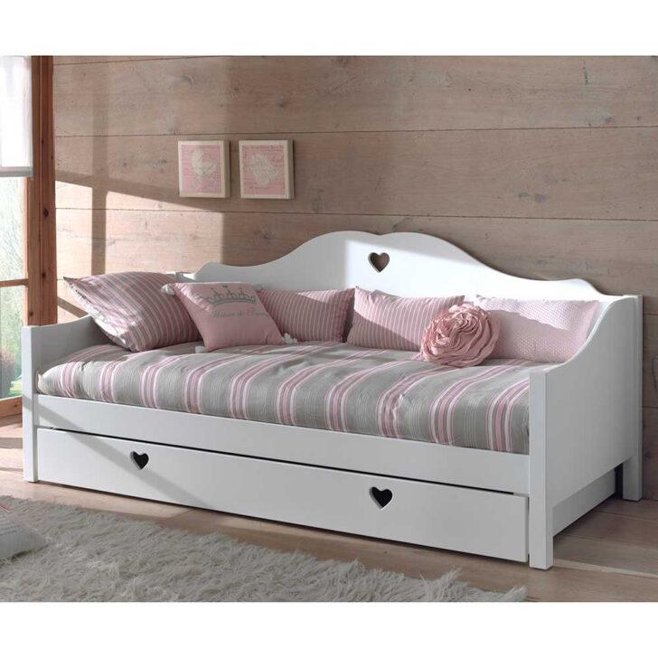 Medium Size of Mädchenbetten Mdchenbett Grandory In Wei Wohnende Wohnzimmer Mädchenbetten