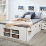 Stauraumbett 200x200 Betten Bett Stauraum Mit Bettkasten Weiß Komforthöhe Wohnzimmer Stauraumbett 200x200