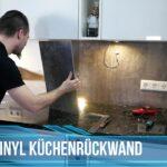Kchenrckwand Aus Laminat Oder Vinyl Herstellen Vinylboden Wohnzimmer Badezimmer Bad Im Verlegen Fürs Küche Wohnzimmer Küchenrückwand Vinyl