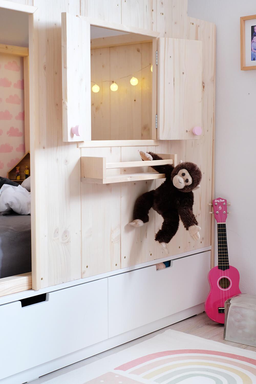 Full Size of Kura Bed Montessori Hack Hacks Ikea Floor Pinterest House Storage Slide Double 2 Beds Ideas Underneath Bunk Hausbett Kinderbett Haus 90x200 Diy Bett Fr Wohnzimmer Kura Hack