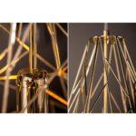 Hngeleuchte Cage Gold Industrial Look Warenversand24de Wohnzimmer Deckenlampe Küche Deckenlampen Für Modern Schlafzimmer Esstisch Bad Wohnzimmer Deckenlampe Industrial