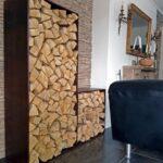 Holzlege Cortenstahl Campo Holzlager Massiv Und Lackiert Fr Zuhause Wohnzimmer Holzlege Cortenstahl