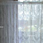 Vorhang Lucia Wei Spitzen Gardine Rosen Shabby Landhaus Bad Landhausstil Wohnzimmer Gardinen Für Küche Sofa Landhausküche Grau Die Betten Regal Weiß Bett Wohnzimmer Gardine Landhaus