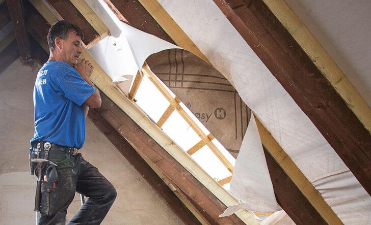Medium Size of Dachfenster Einbauen Dachausbau Fenster Selbstde Bodengleiche Dusche Nachträglich Velux Rolladen Neue Kosten Wohnzimmer Dachfenster Einbauen
