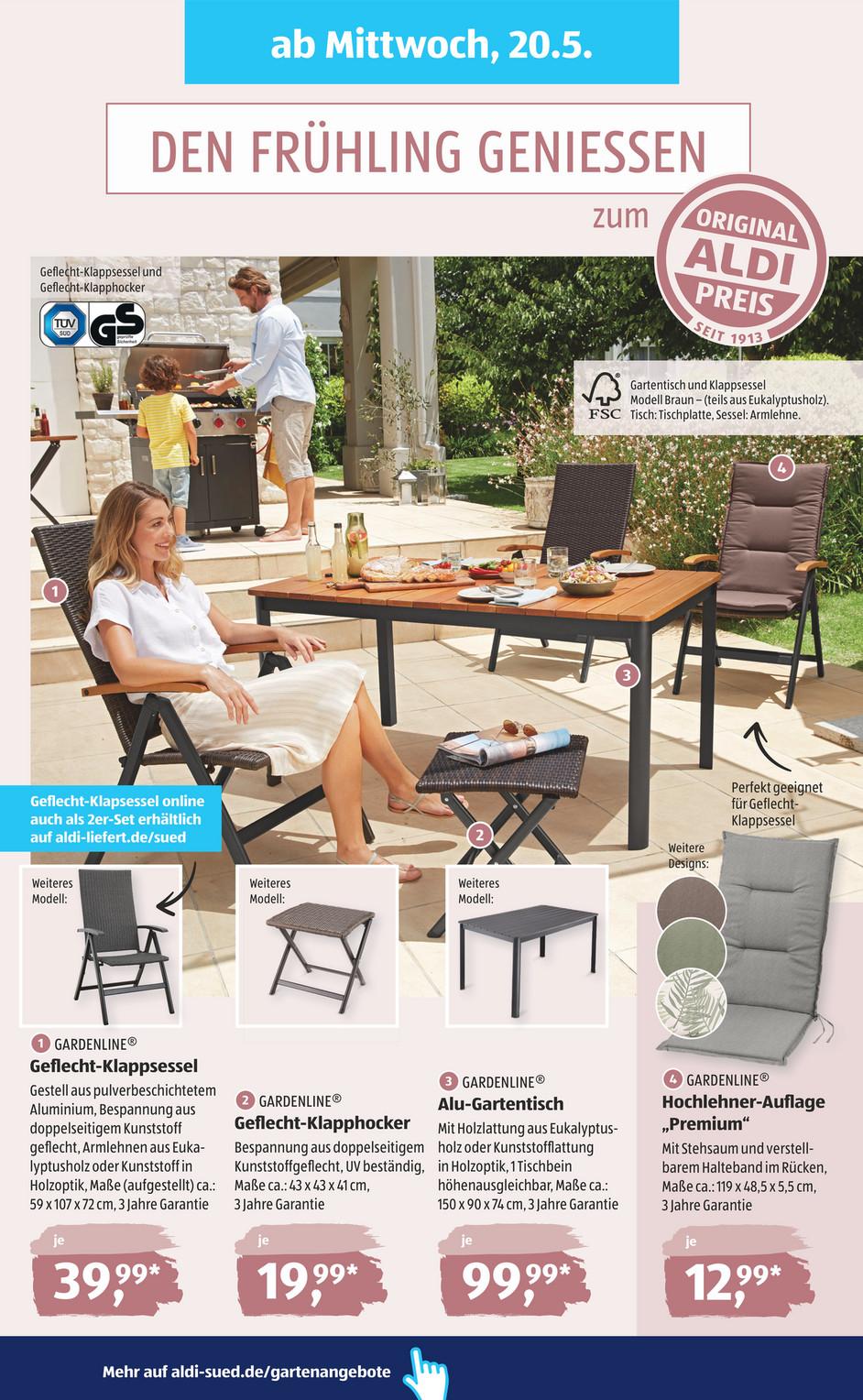 Full Size of Aldi Gartenbank Sd Kw21 20 Op Seite 26 27 Relaxsessel Garten Wohnzimmer Aldi Gartenbank