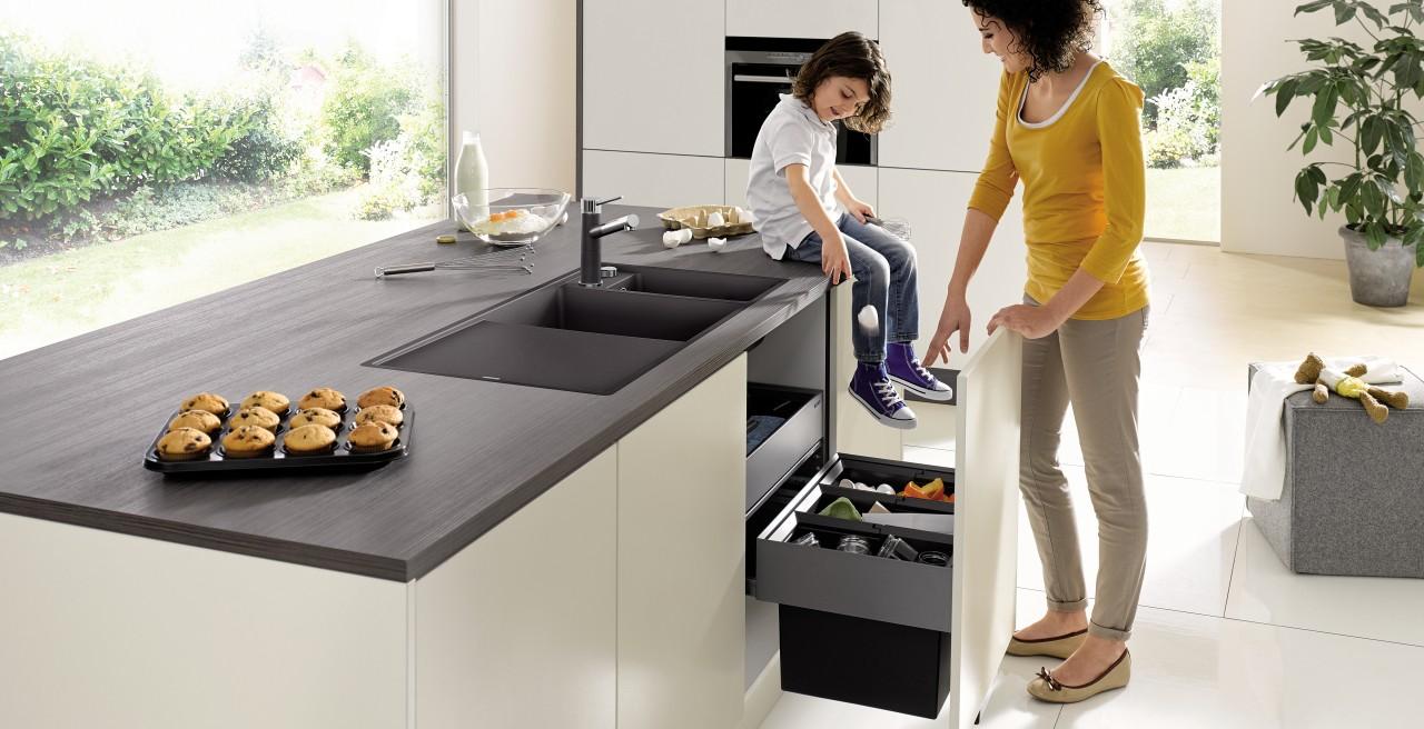 Full Size of Müllsystem Ihr Splenunterschrank Ist Ein Echtes Stauraumwunder Blanco Küche Wohnzimmer Müllsystem