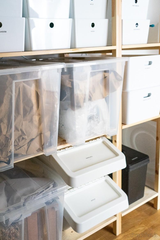 Full Size of Ordnungssystem Mit Tipps Fr Aufbewahrung In Abstellraum Und Kche Küche Sonoma Eiche Outdoor Kaufen Sockelblende Salamander Tapeten Für Die Ikea Einbauküche Wohnzimmer Kisten Küche