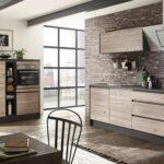 Moderne Kchenzeile In Ribbeck Eiche Dekor Kaufen Küchen Regal Wohnzimmer Möbelix Küchen