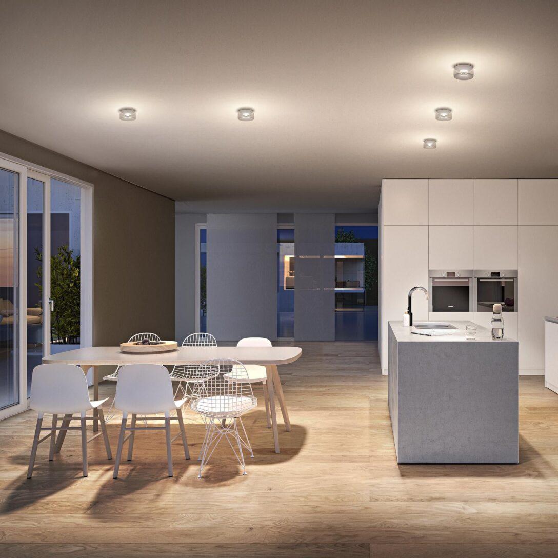 Large Size of Deckenlampe Küche Modern Deckenleuchte Mit Direkt Und Indirektbeleuchtung Led Tapeten Für Die Pantryküche Kühlschrank Moderne Landhausküche Miniküche Wohnzimmer Deckenlampe Küche Modern