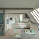 Hängeregal Kücheninsel Kche Mit Dachschrge Tipps Und Kniffe Fr Planung Küche Wohnzimmer Hängeregal Kücheninsel