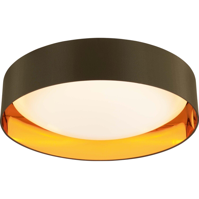 Full Size of Obi Deckenleuchten Led Deckenleuchte Aliano Gold Braun 60 Cm A Kaufen Bei Regale Mobile Küche Immobilien Bad Homburg Immobilienmakler Baden Wohnzimmer Wohnzimmer Obi Deckenleuchten