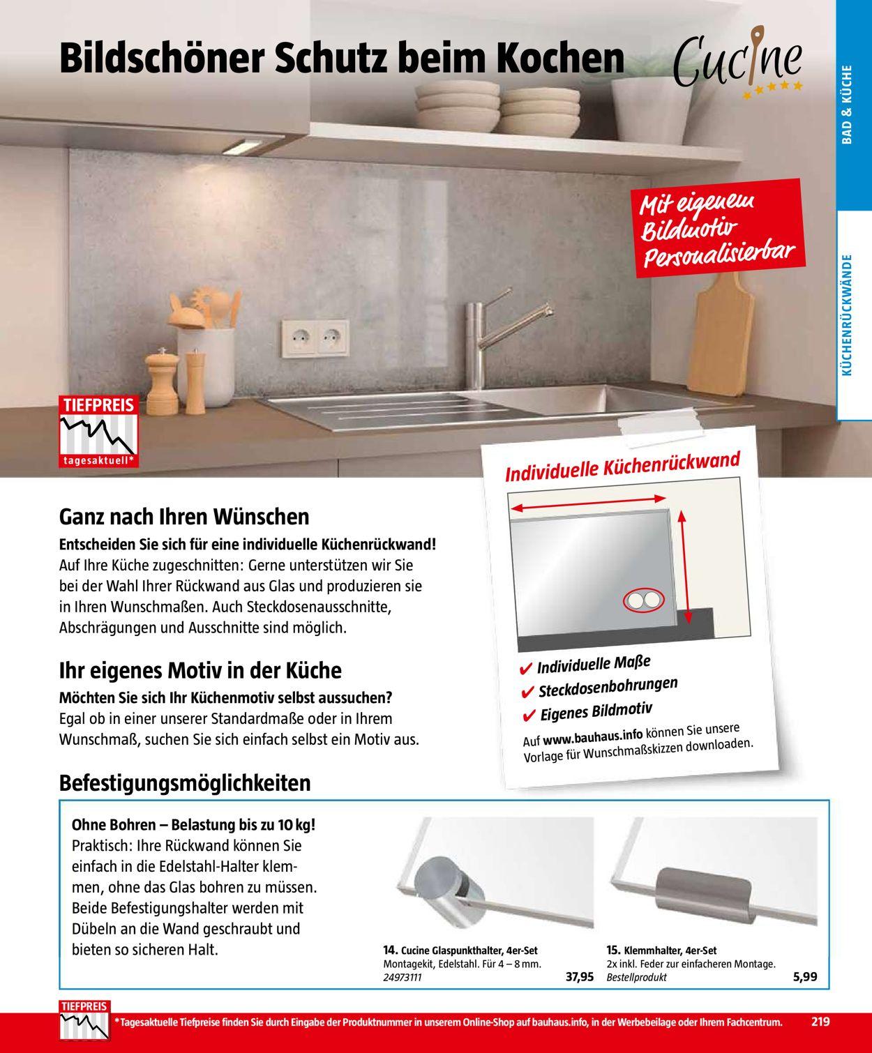 Full Size of Bauhaus Aktueller Prospekt 0410 31012020 219 Jedewoche Poco Bett Küche Betten 140x200 Schlafzimmer Komplett Big Sofa Wohnzimmer Küchenrückwand Poco
