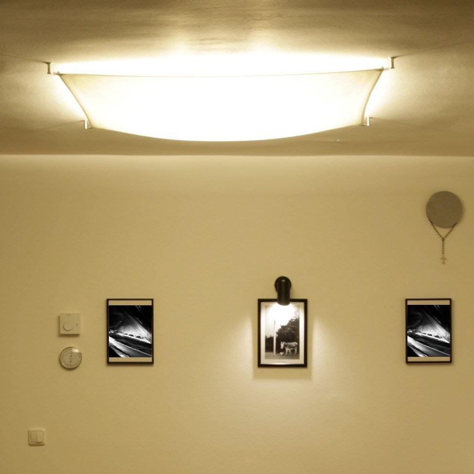 Full Size of Lichtsegel Led E27 Segelleuchte Kaufen Lichtakzenteat Deckenlampen Wohnzimmer Hängeschrank Weiß Hochglanz Kamin Kunstleder Sofa Für Deckenlampe Bilder Xxl Wohnzimmer Deckenlampe Led Wohnzimmer