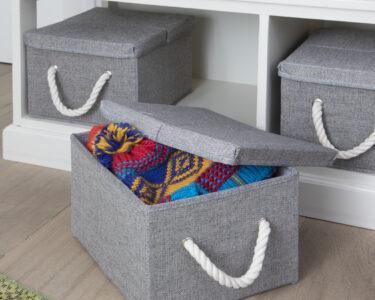Aufbewahrungsbox Kinderzimmer Wohnzimmer Aufbewahrungsbox Kinderzimmer Aufbewahrungsboxen 30x25x20cm Terrasell Regale Sofa Regal Garten Weiß