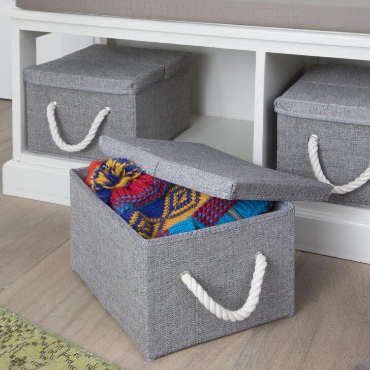 Aufbewahrungsbox Kinderzimmer Aufbewahrungsboxen 30x25x20cm Terrasell Regale Sofa Regal Garten Weiß Wohnzimmer Aufbewahrungsbox Kinderzimmer