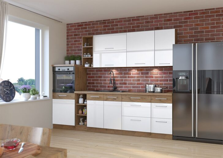 Medium Size of Kchenmbel Woodline Iv Lieferung Kostenlos Mirjan24 Wohnzimmer Küchenmöbel