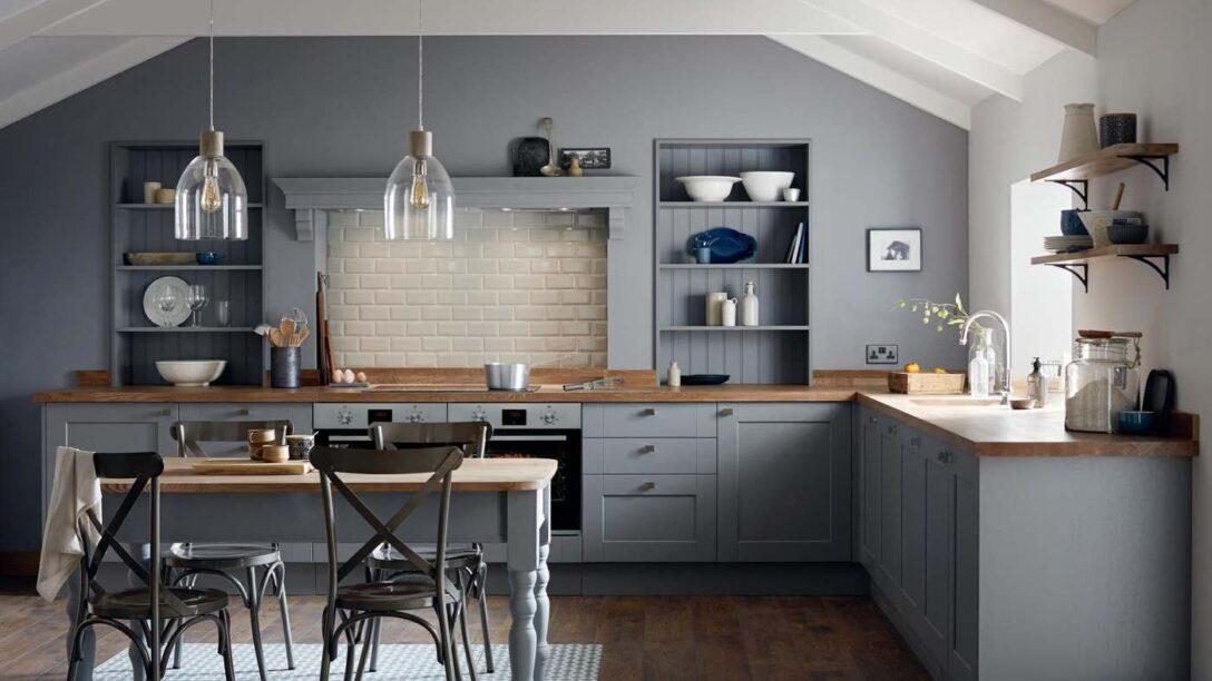 Large Size of Landhausküche Wandfarbe Graue Kche Welche Eignet Sich Am Besten Gebraucht Moderne Grau Weisse Weiß Wohnzimmer Landhausküche Wandfarbe