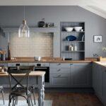 Landhausküche Wandfarbe Graue Kche Welche Eignet Sich Am Besten Gebraucht Moderne Grau Weisse Weiß Wohnzimmer Landhausküche Wandfarbe