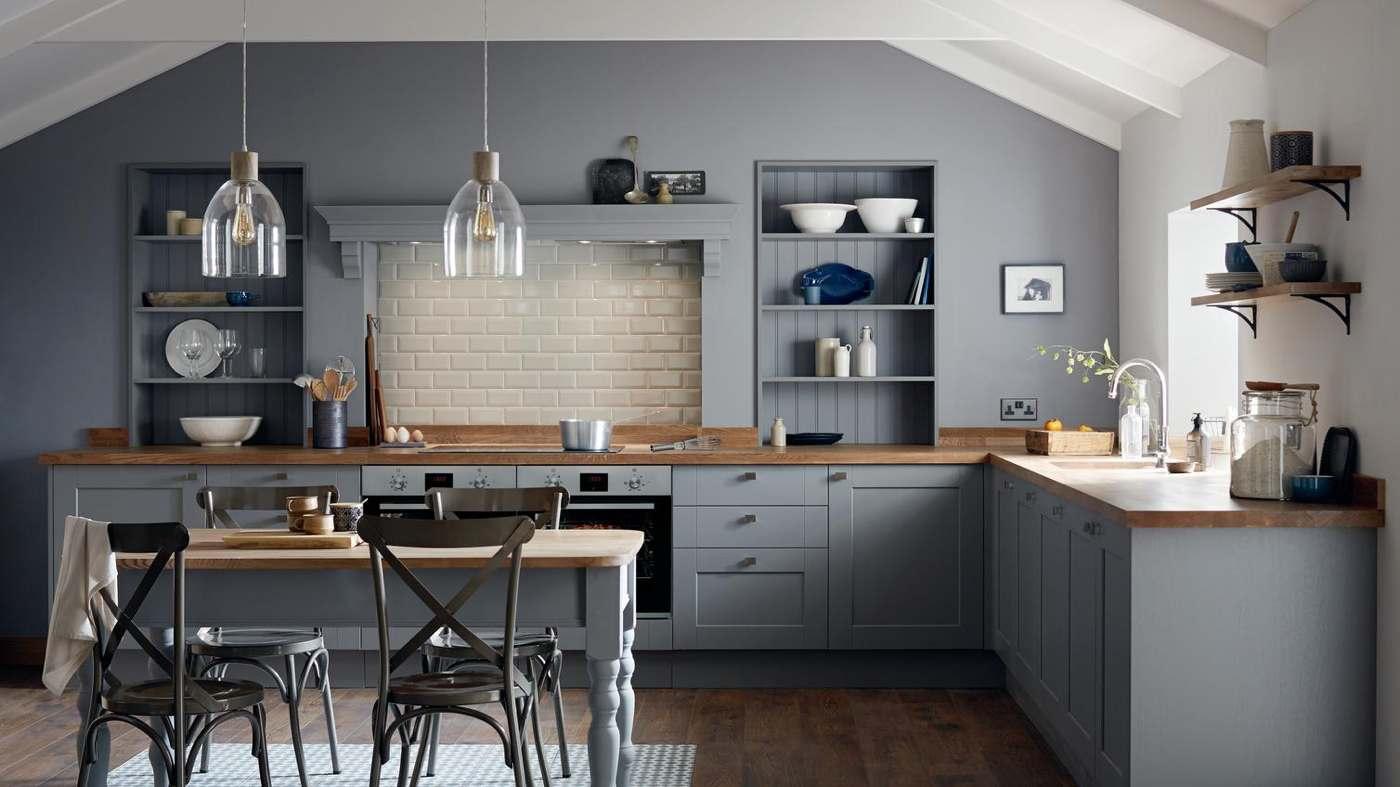 Full Size of Landhausküche Wandfarbe Graue Kche Welche Eignet Sich Am Besten Gebraucht Moderne Grau Weisse Weiß Wohnzimmer Landhausküche Wandfarbe
