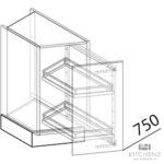 Nolte Apothekerschrank Wohnzimmer Nolte Kchen Diagonalschrank Uvsk30 Gnstig Kaufen Schlafzimmer Betten Küche Apothekerschrank