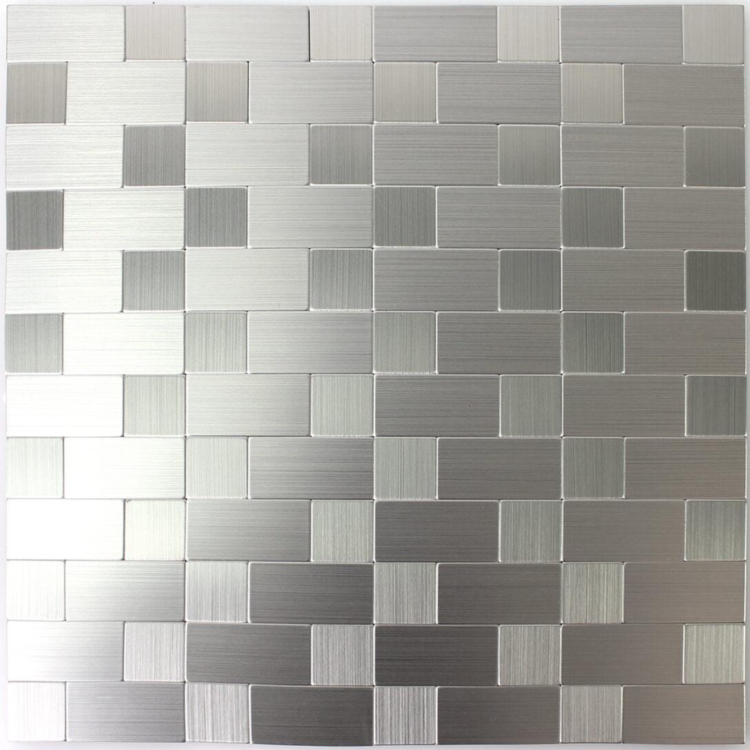Large Size of Selbstklebende Metall Mosaik Fliesen Silber Mitm33438 Holzfliesen Bad Bodenfliesen Badezimmer Für Küche Holzoptik Fliesenspiegel Selber Machen Wandfliesen Wohnzimmer Selbstklebende Fliesen