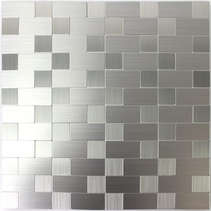 Medium Size of Selbstklebende Metall Mosaik Fliesen Silber Mitm33438 Holzfliesen Bad Bodenfliesen Badezimmer Für Küche Holzoptik Fliesenspiegel Selber Machen Wandfliesen Wohnzimmer Selbstklebende Fliesen