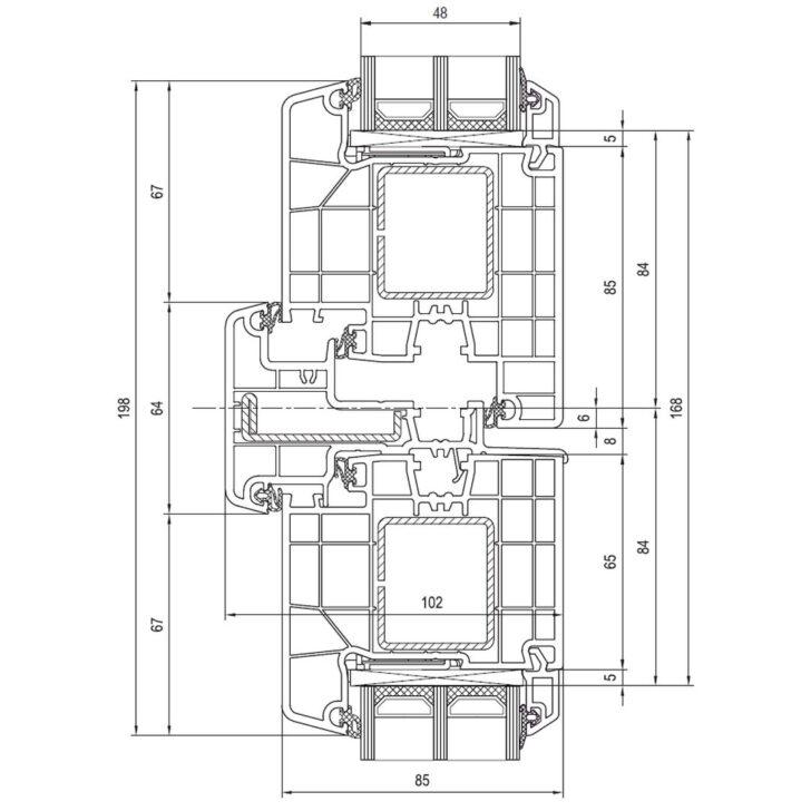 Medium Size of Detailzeichnungen Kunststofffenster Ideal 8000 Fensterblickde Aluplast Fenster Wohnzimmer Aluplast Erfahrung
