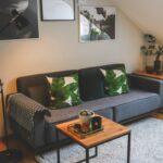 Mein Neuer Wohnbereich In Grau Und Grn Interview Mit Home24 Home Affaire Sofa Wohnzimmer Teppiche Big Affair Bett Wohnzimmer Home 24 Teppiche